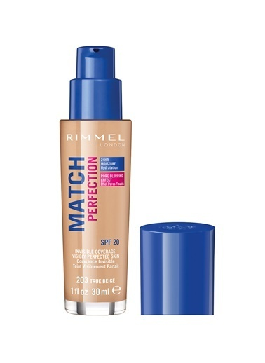 Rimmel London Match Perfection Fondöten 203-True Beı-Rimmel London